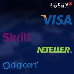 Options bancaires sur Lucky8 Casino